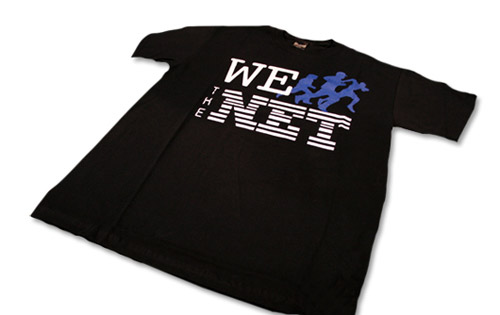 "Karmaloop ""We Run the Net"" T-shirt"