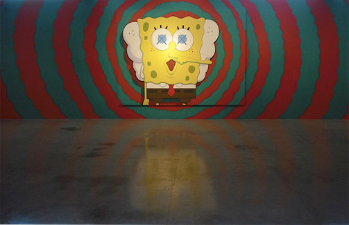 """KAWS """"Saturated"""" Show Opening"""