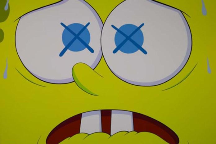 "KAWS ""Saturated"" Show at Emmanuel Perrotin Gallery"