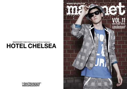 "MACKDADDY 2008-09 Fall/Winter ""Hotel Chelsea"" Lookbook"