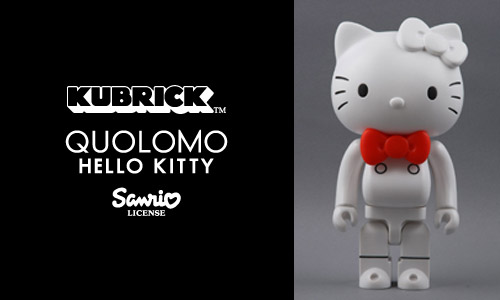 Quolomo x Medicom Toy Hello Kitty 400% Kubrick