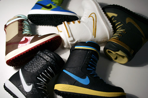 Nike Snowboarding 2008 Fall/Winter Collection Toy Boots