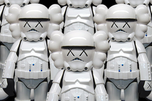 OriginalFake x Star Wars Storm Trooper KAWS Companion Release