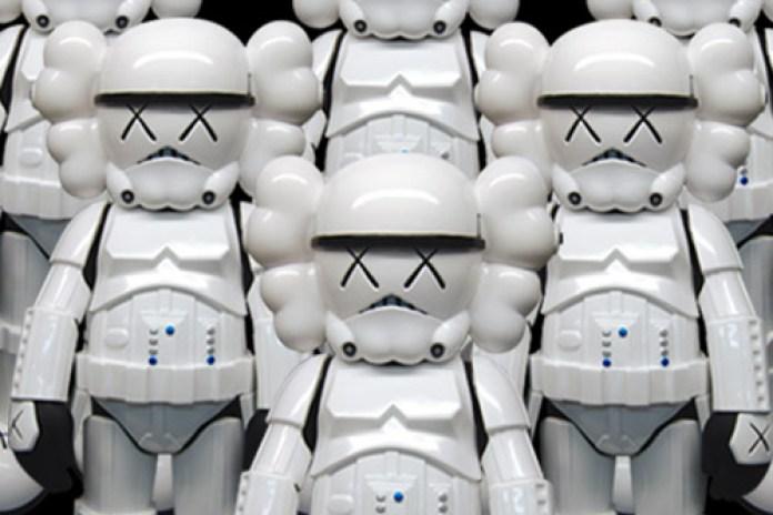 OriginalFake x Star Wars Storm Trooper KAWS Companion Release