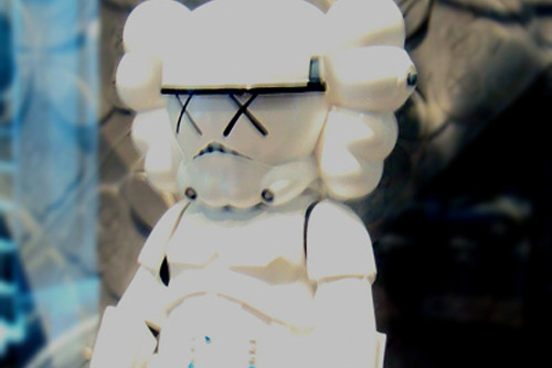 OriginalFake x Star Wars Storm Trooper KAWS Companion Preview