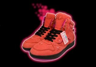 Club Zonder Filter x LA Gear Kid Fireball Sneakers