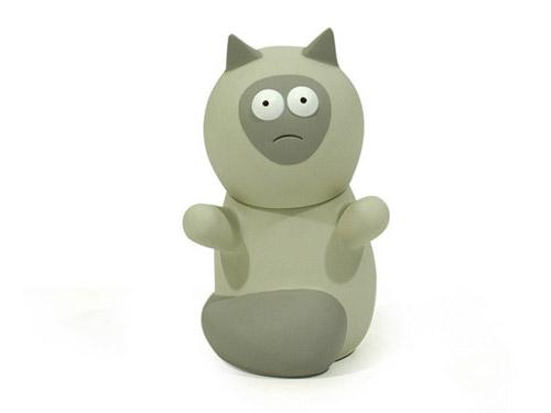 Amos Toys Vinyl Cat Toy