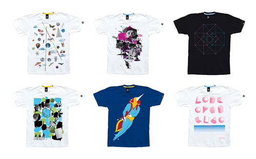Sixpack 2008 Fall/Winter Artist Series Tees