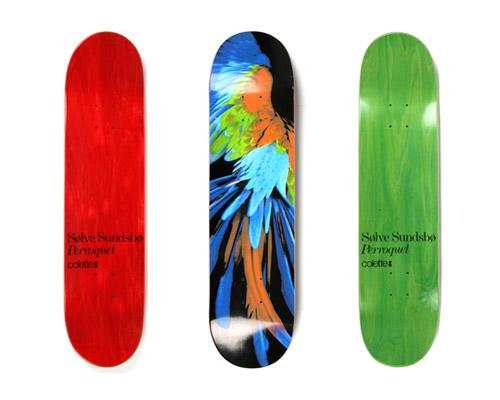 Solve Sundsbo x colette Skate Deck