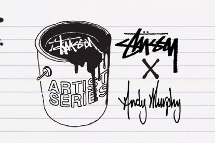 Stussy Artist Series - Andy Murphy