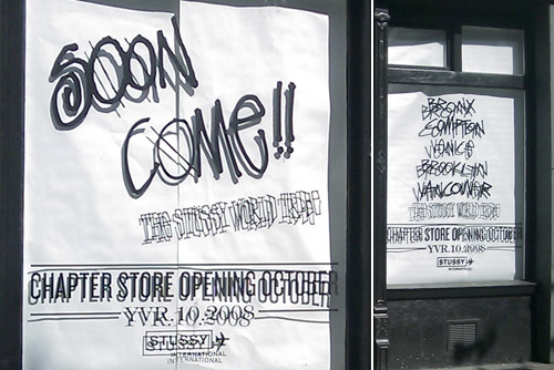 Stussy Vancouver Chapter Opening Set