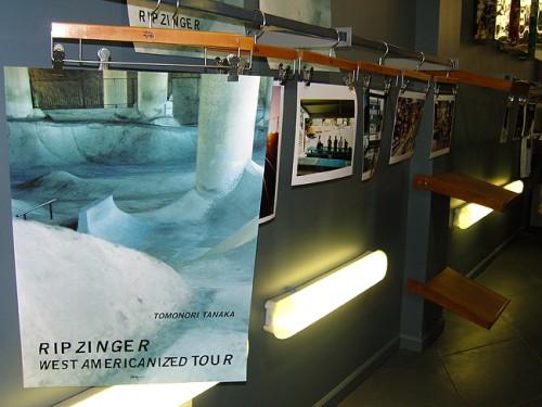 Rip Zinger Exhibit at Stussy SF