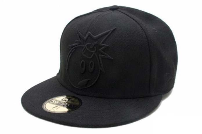 The Hundreds Black Tonal Outline New Era 59Fifty Fitted Cap