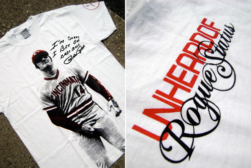 Unheard Of x Rogue Status - Pete Rose T-shirt