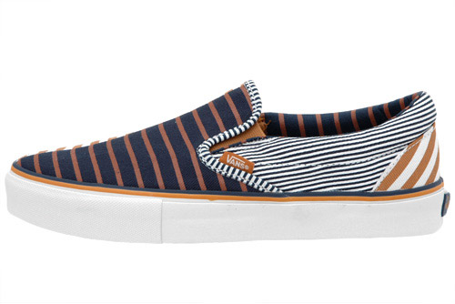 Vans Vault Striped Slip-On LX Pack