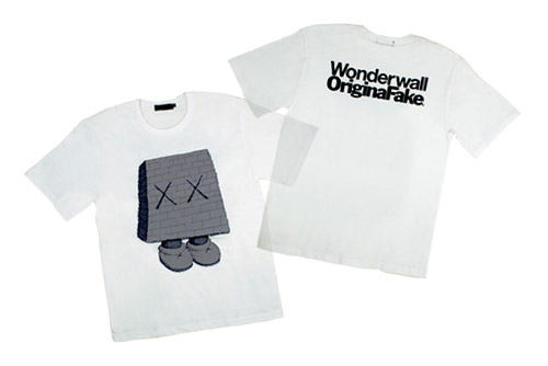 Wonderwall x OriginalFake T-shirt