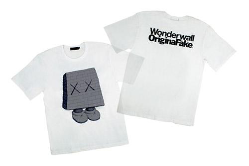Wonderwall x OriginalFake T-shirt
