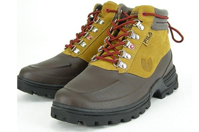 Wu-Tang Clan x Fila Boots
