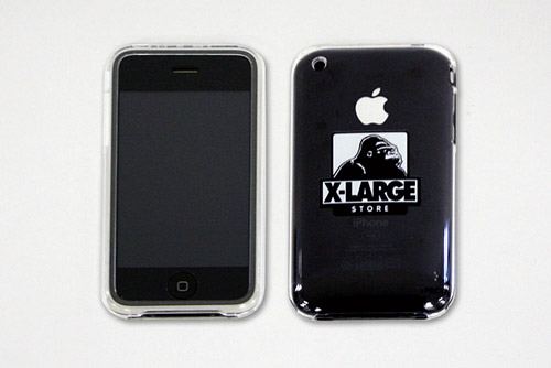 XLARGE iPhone Clear Case