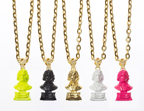 AMBUSH Beethoven Bust Rings & Pendants