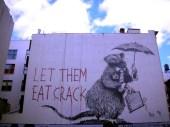 Banksy's Business Rat Piece