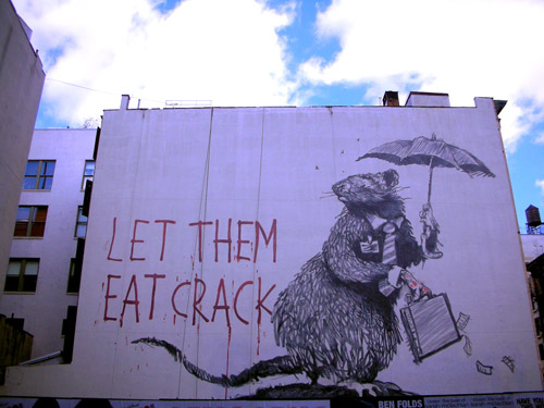 Banksy's Business Rat Piece