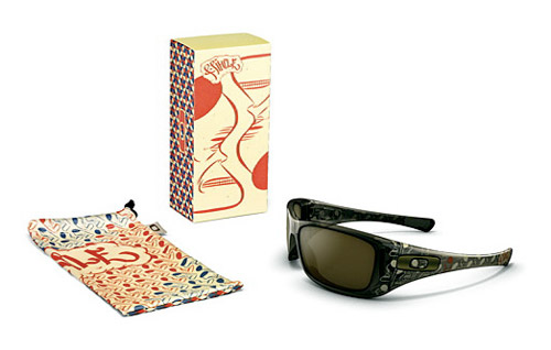 "Barry McGee x Oakley Artist Series ""Robert Pimple"" Sunglasses"