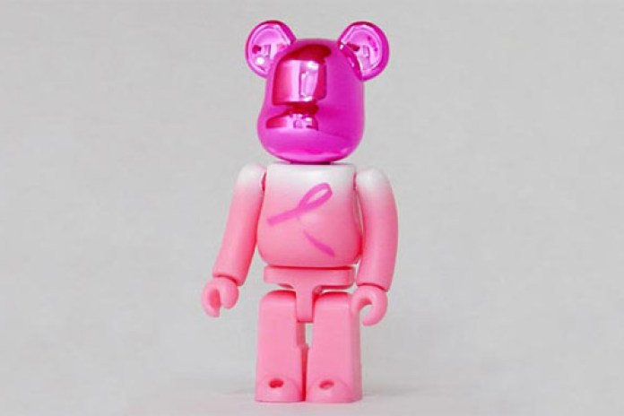Breast Cancer Awarness Campaign Medicom Toy Bearbrick