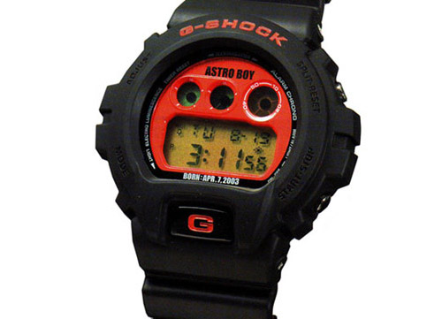 Casio G-Shock DW-6900 Astro Boy