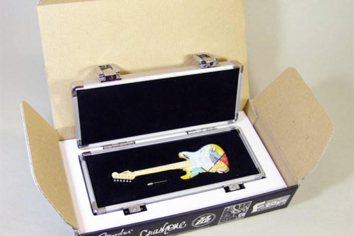 CRASH x F-Toys x Fender Mini Guitars