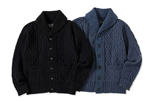 Deluxe Cable Knit Cardigan Sweater