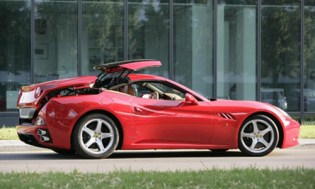 2009 Ferrari California Model Update
