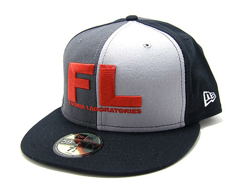 Futura Laboratories Logo Crazy New Era Caps