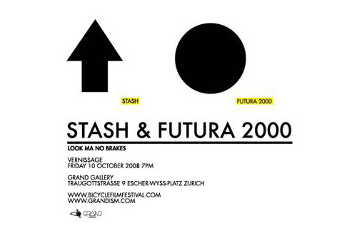 Futura & Stash at Grand Gallery Zurich