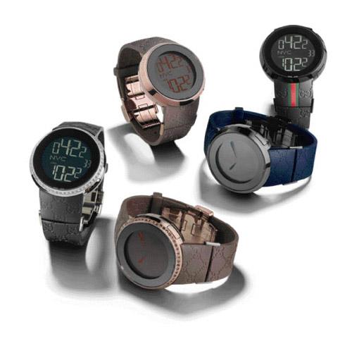 I-Gucci Digital Watch Series