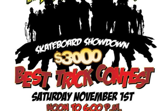 Halloween Hellraiser Skateboard Showdown