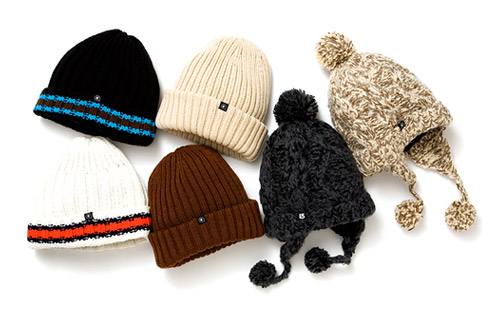 Head Porter Plus x Burton Excursion 2008 Headwear Collection