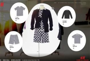 Comme des Garcons x H&M Website
