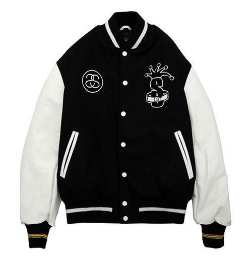 International Stussy Tribe Varsity Jacket