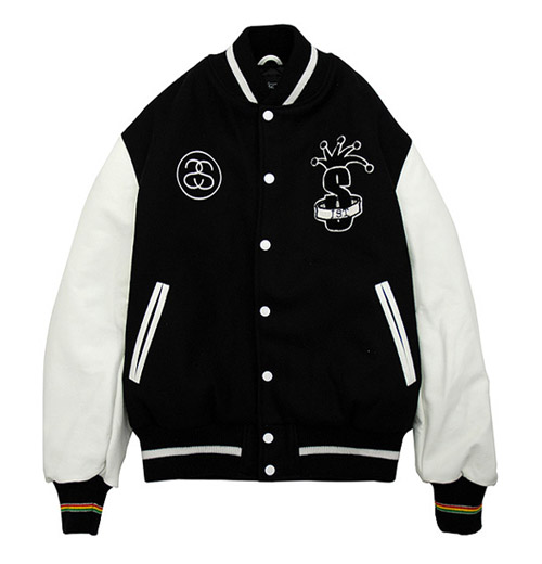International Stussy Tribe Varsity Jacket