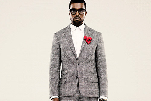 Kanye's 808s & HEARTBREAK promo shots