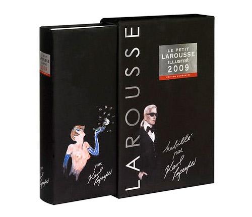 Karl Lagerfeld x Le Petit Larousse 2009 Edition