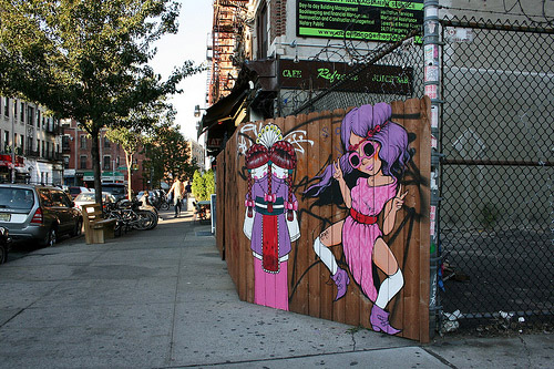 Koralie and Fafi piece hits Brooklyn