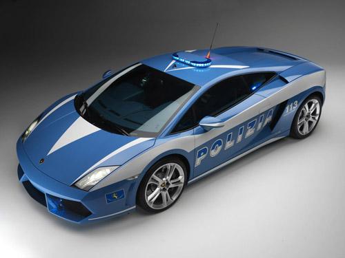 Lamborghini Gallardo LP560-4 Italian Police Car