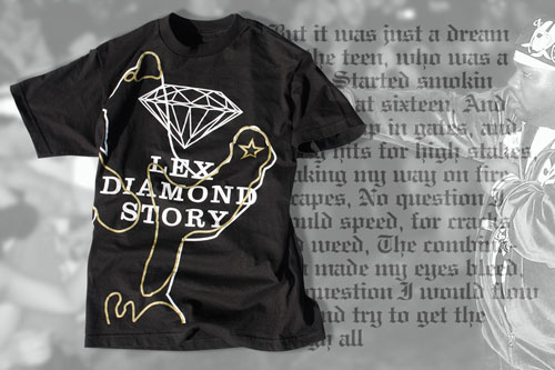 "UXA ""The Lex Diamond Story"" Tee"