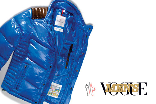 Men's Vogue x Moncler Austin Down Ski Jacket Charity