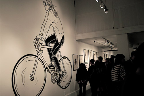 """Mike Giant """"Greetings From San Francisco"""" Exhibition"""