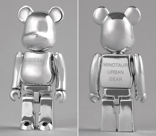 Minotaur Shop x Medicom Toy 100% Bearbrick