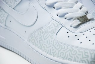 Aaron De La Cruz Nike Air Force 1 Custom for HYPEBEAST