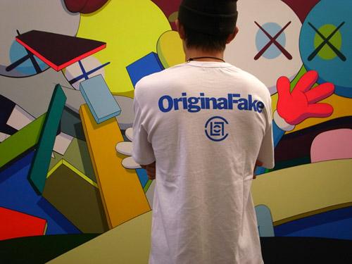 OriginalFake x CLOT Tee Preview